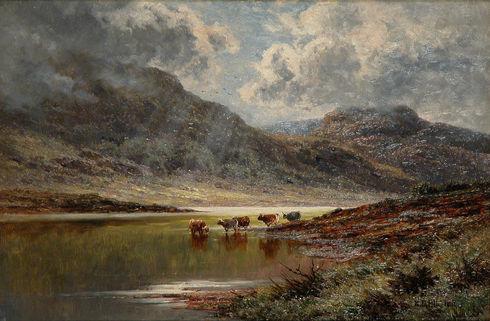 'Loch Triochatan, Argyllshire'