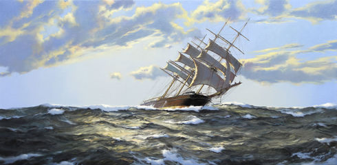 Strong Winds - The Clipper 'Lothair'