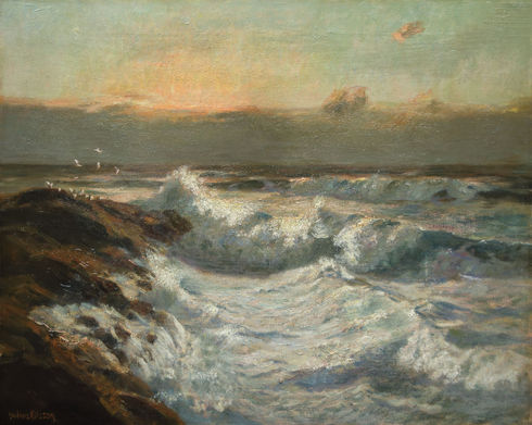 Breakers at Twilight