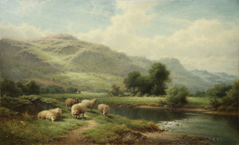 'On the Lledr, North Wales'